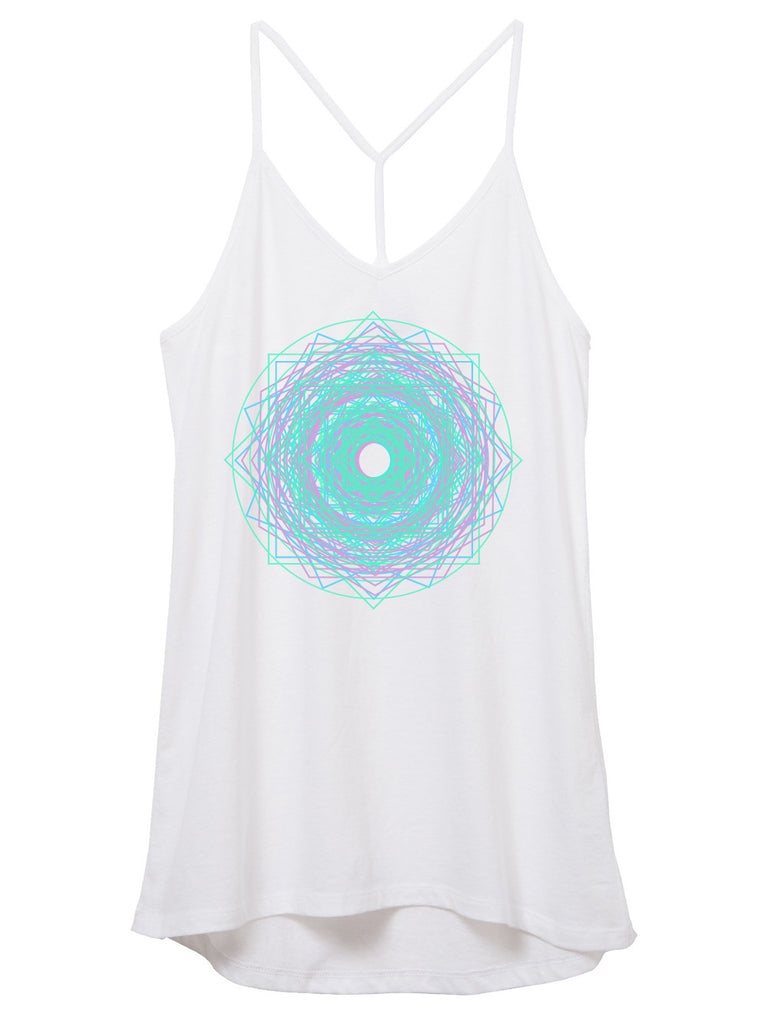 unicorn mandala tank top