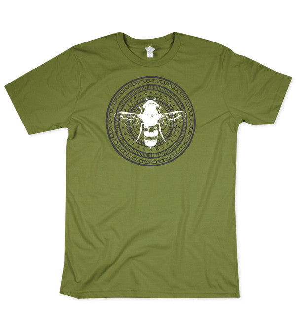 LIMITED EDITION Green Mandala Bee Shirt