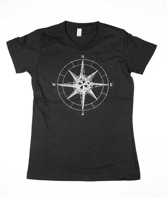 Women's Black Compass Shirt