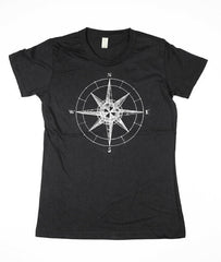 Womens Black Compass Shirt