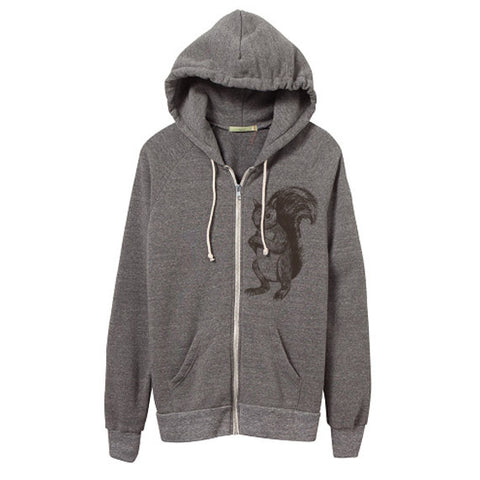 Unisex Eco-Heather Squirrel Hoodie