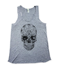 Womens Day of The Dead Tank Top