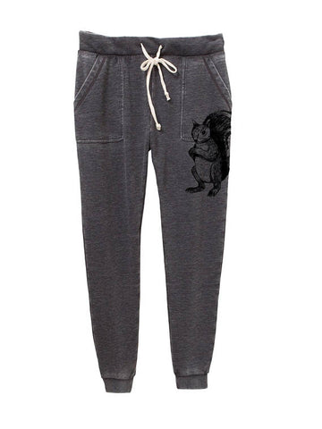 Women's French Terry Squirrel Jogger Pants