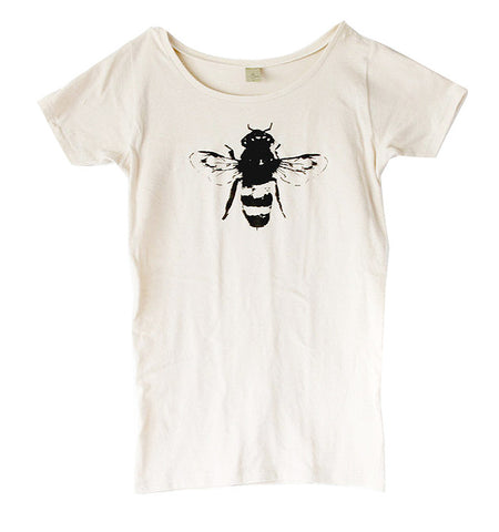 Women's Natural Bee Tee