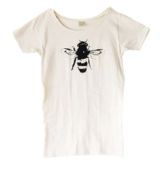 Womens Natural Bee Tee