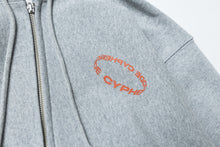 Load image into Gallery viewer, SPIN LOGO ZIPUP HOODIE