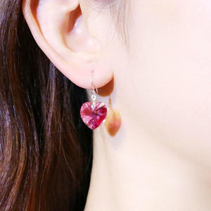 Heart Sterling Silver Earrings