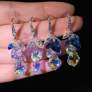 Sweet Shining Austrian Crystal Earrings
