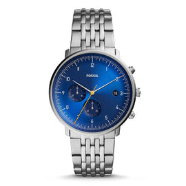 FOSSIL CHASE TIMER Chronograph watch Mens with Stainless Steel Mens Watches top brand luxury FS5542P