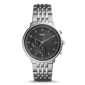 FOSSIL CHASE TIMER Watch for Men Chronograph Quartz Watch Men Watches with Stainless Steel FS5489P
