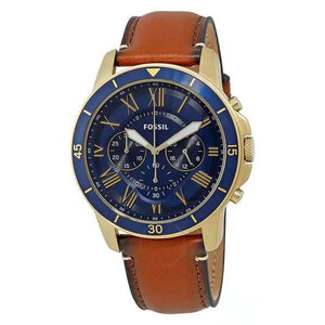 Brand Luxury Fossil Men's Watch Genuine Leather Strap Sport Watches Male Casual Quartz Watch Famous FS5268