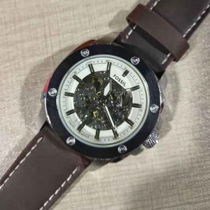 2020 New Goods,Mens Watches,Mechanical Watch,Luxury Sports Fossil Watch Men's Waterproof Military  Watch With Black Leather Belt