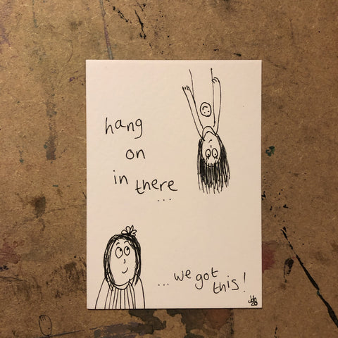 We got this - original mini artist card