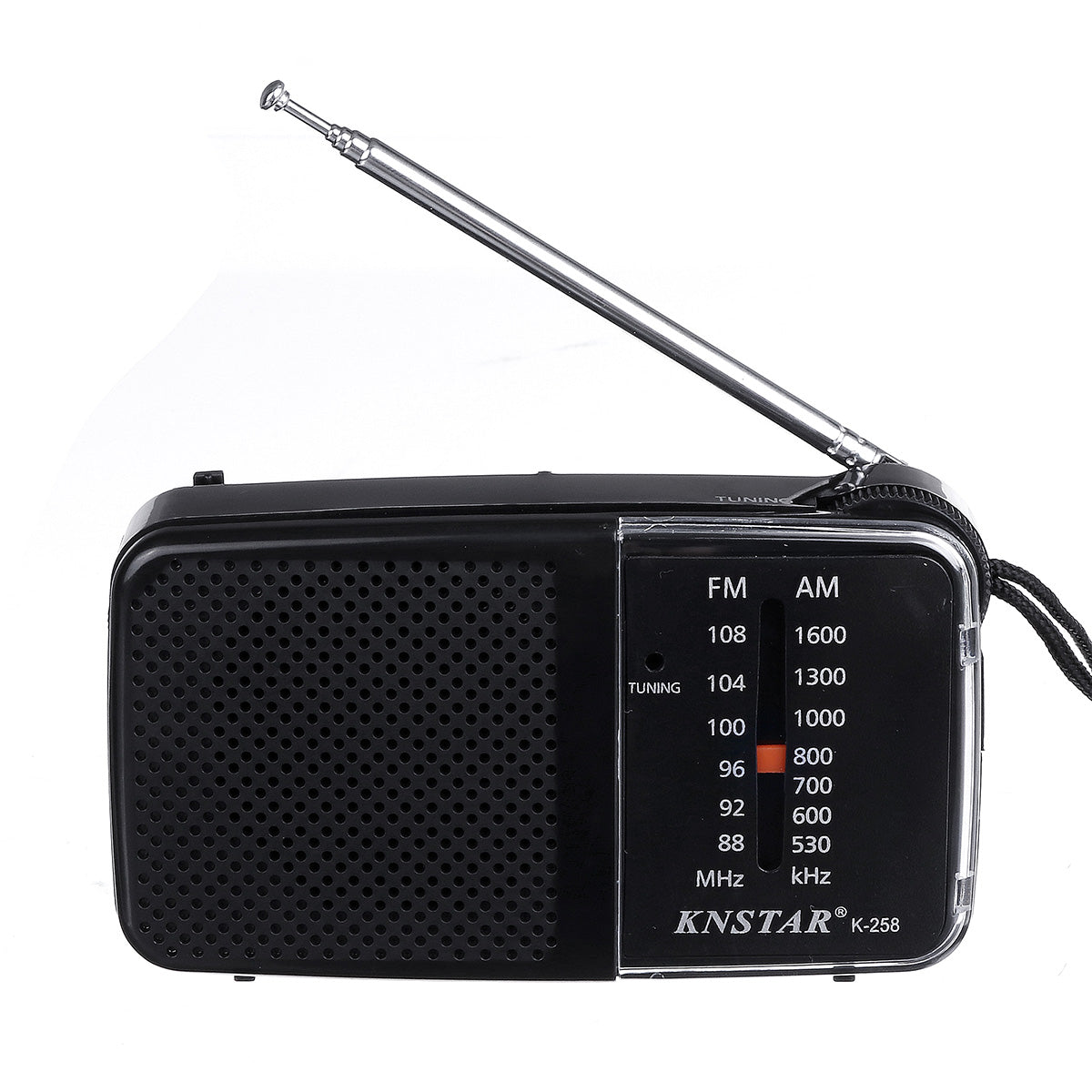 AM FM Portable Radio Receiver Battery Operated