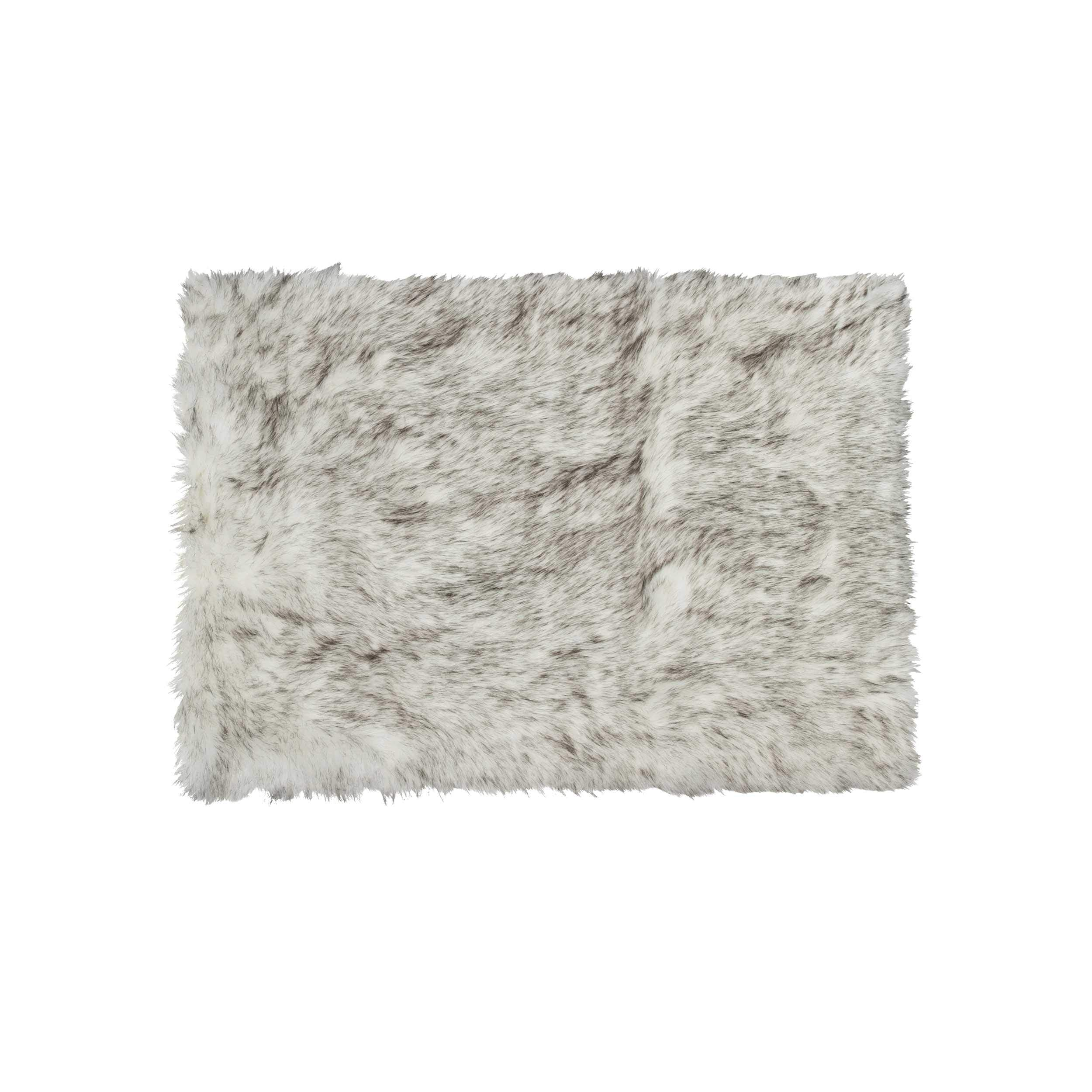 Home Splendor™ Sheepskin Rug Throw 60