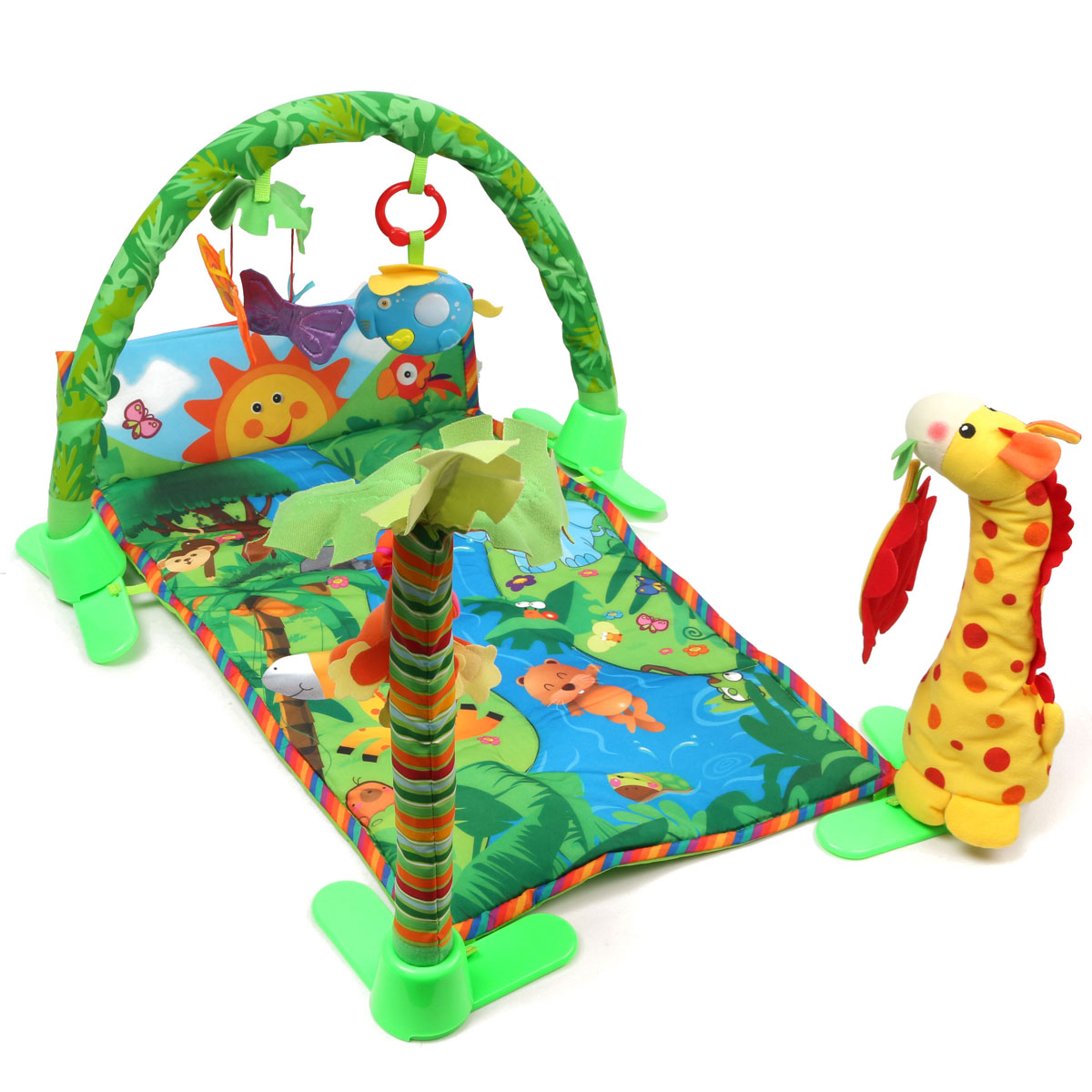 BabyGym™ Infant Baby Activity Gym Floor Play Mat Toy