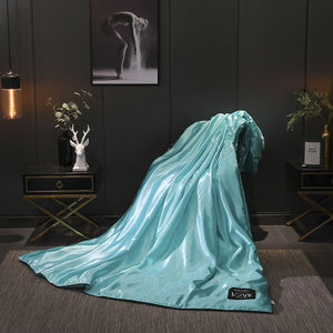 🔥Free Shipping🔥 -✳Healthy Sleep✳ -Original Silk Ice Soft Cozy Summer Air Conditioning Quilt-Sexy Luxury Silk(Summer Time Limit-50% OFF)