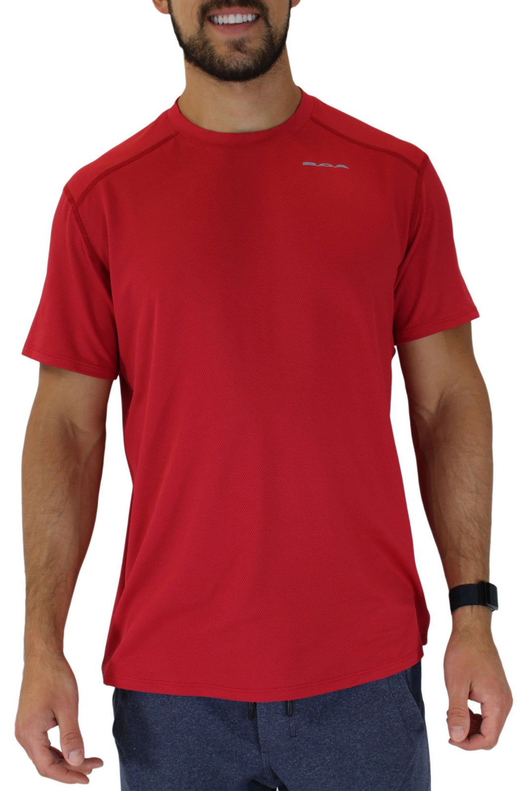 BOA USA MEN'S VERSATEX CANYON SHORT SLEEVE RUNNING SHIRT