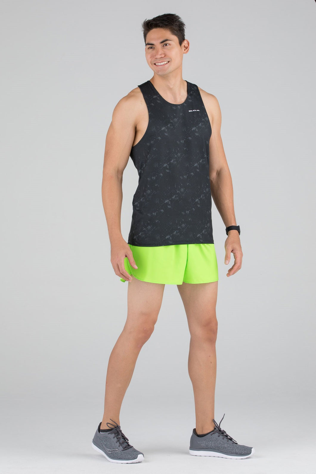 BOA USA MENS HYPERSOFT RUNNING SINGLET