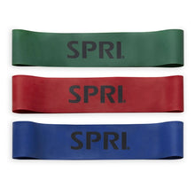Load image into Gallery viewer, SPRI Mini Bands 3 Pack