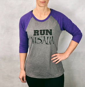 RUN Visalia Baseball T-shirt