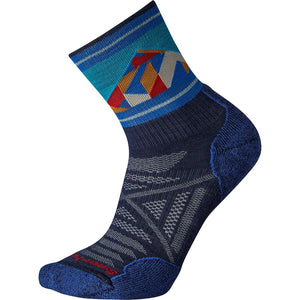 Smartwool Men's PhD® Outdoor Light Pattern Mid Crew Hiking Socks