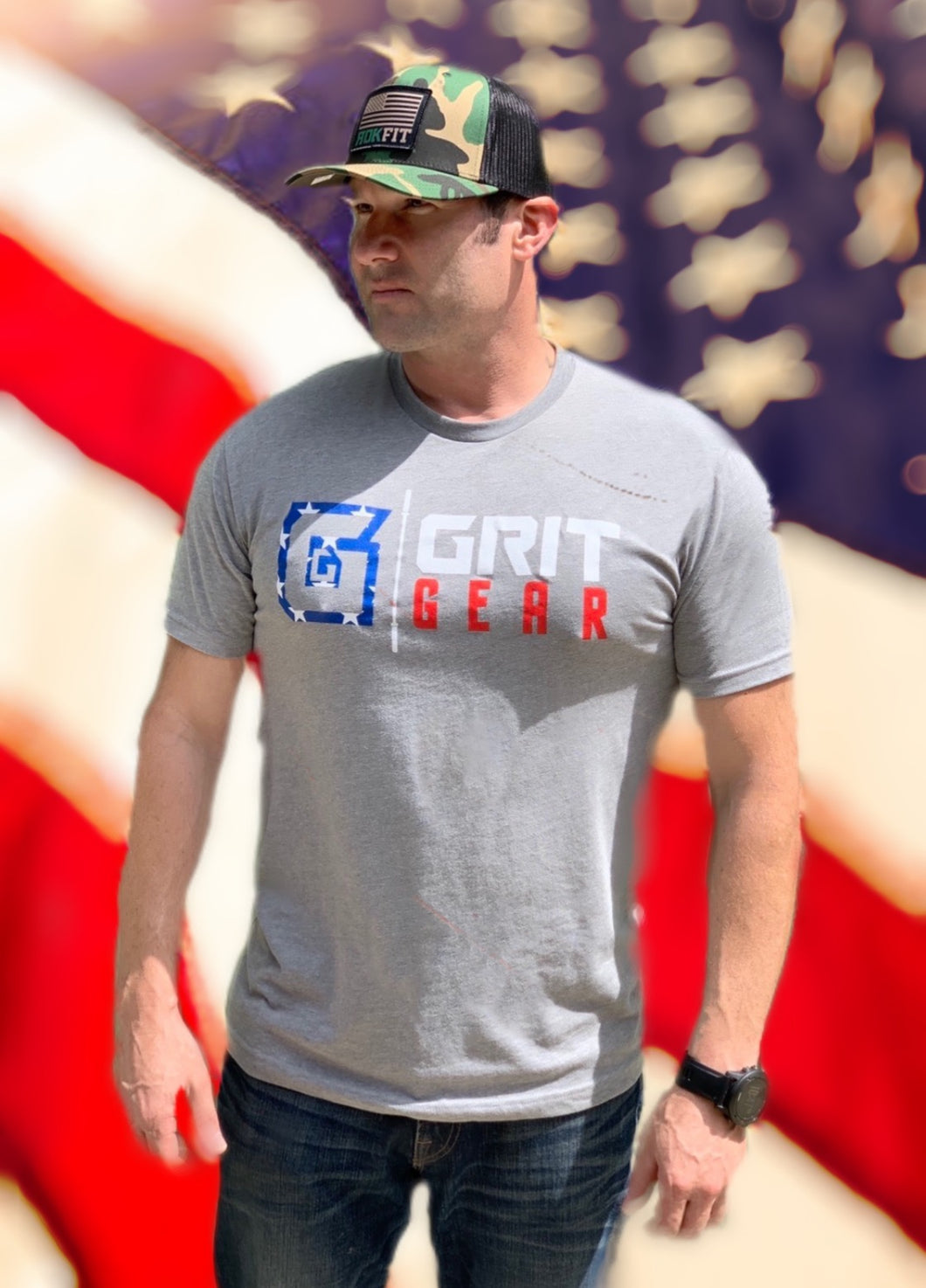 Grit Gear Stars and Stripes