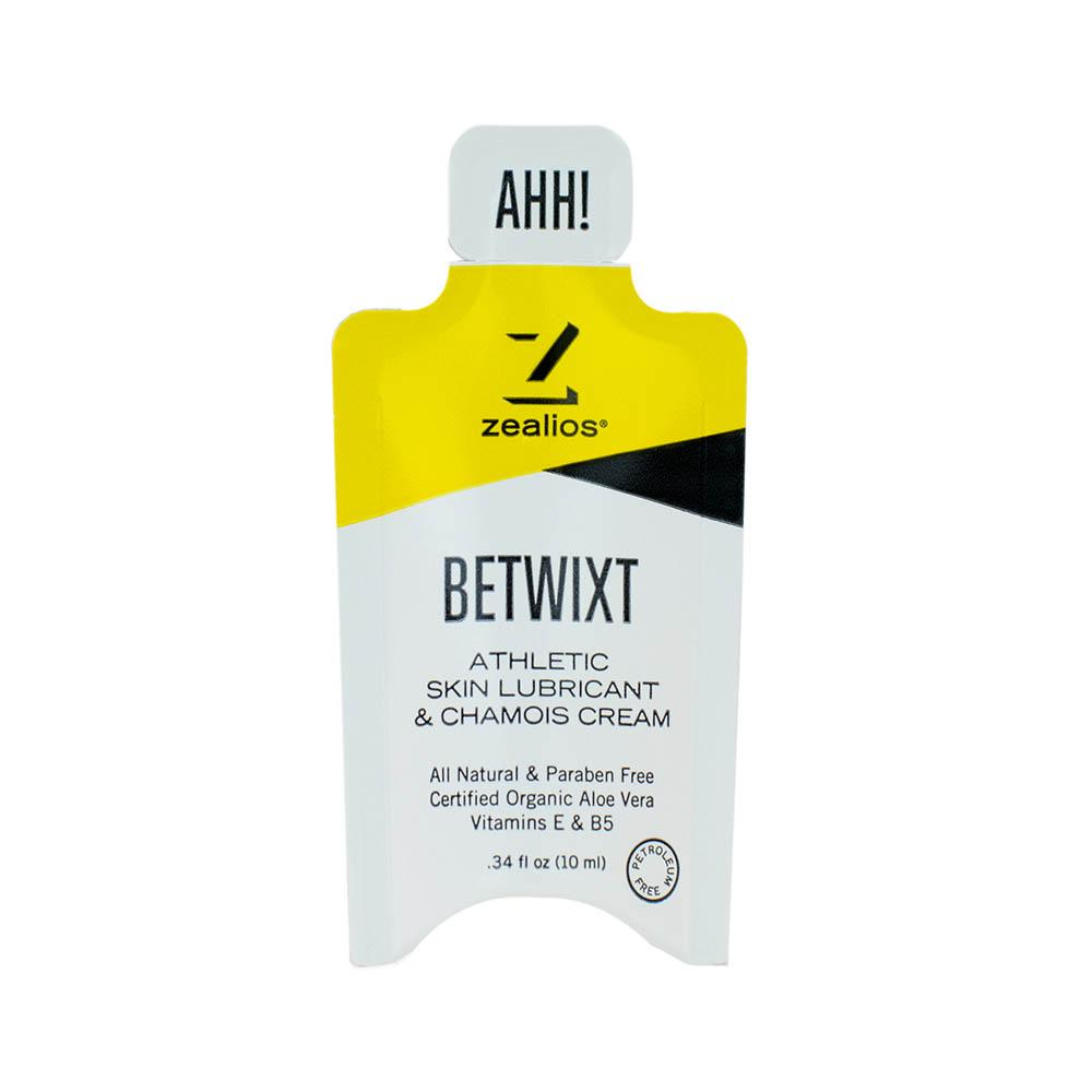 Zealios Betwixt Anti-Chafing Cream - 10 ml Travel Size Pocket Packets