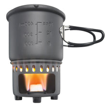 Load image into Gallery viewer, Industrial Revolution Solid Fuel Stove and Cookset, includes stove and pot