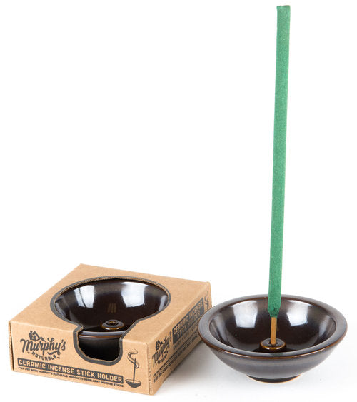 Murphy's Naturals CERAMIC MOSQUITO INCENSE HOLDER