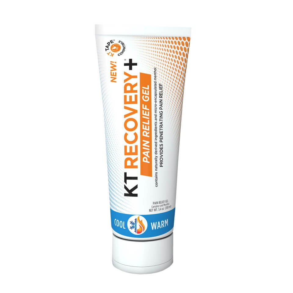 KT RECOVERY+ PAIN RELIEF GEL TUBE