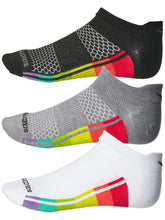 Load image into Gallery viewer, Saucony inferno ultralight socks - 3 pack