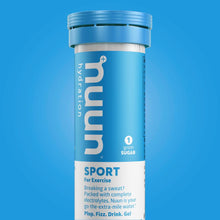 Load image into Gallery viewer, Nuun Sport 10 Serving Tube