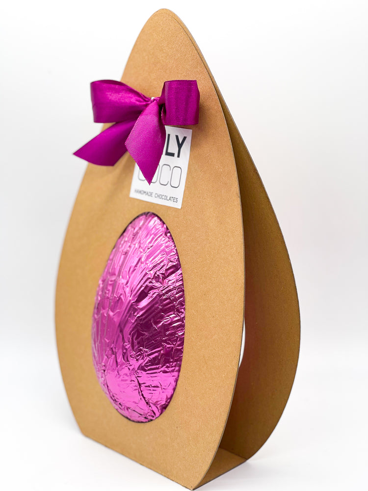 Load image into Gallery viewer, Raspberry White Chocolate Easter Egg