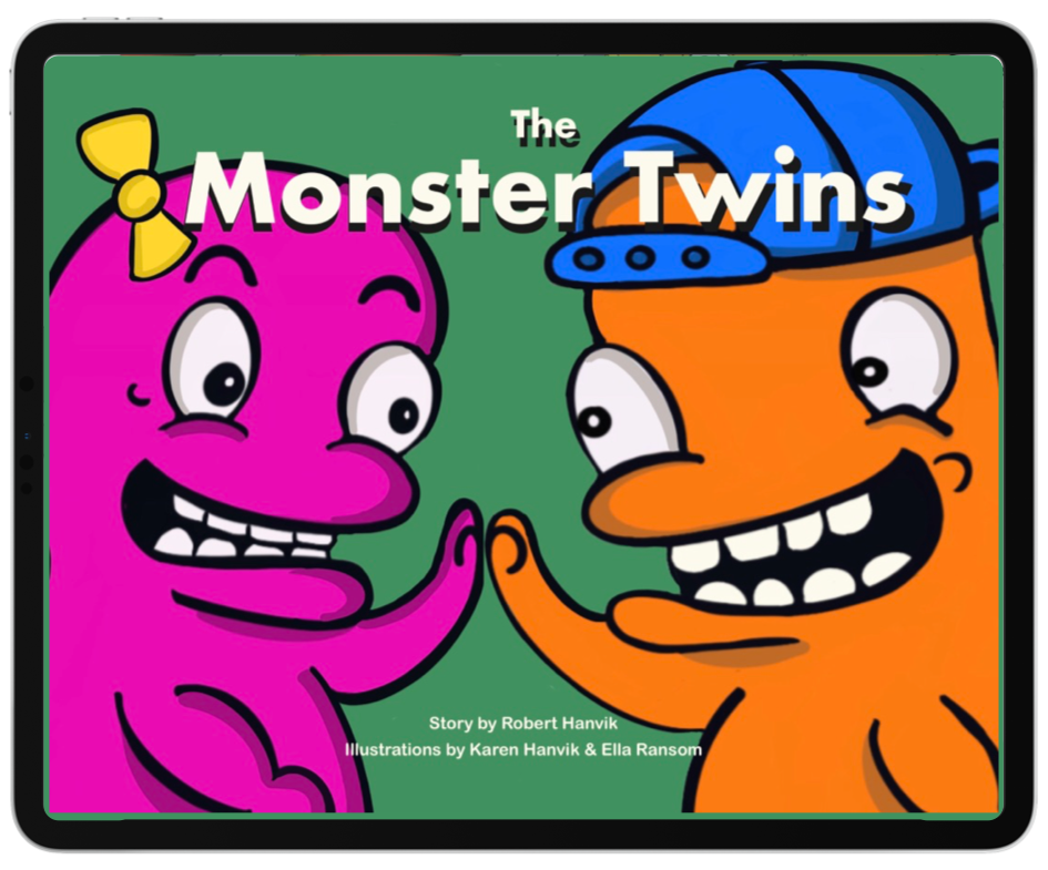 The Monster Twins Interactive eBook - Half Price!
