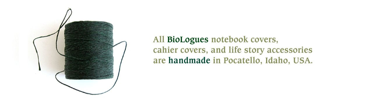 BioLogues Handmade Notebook Covers