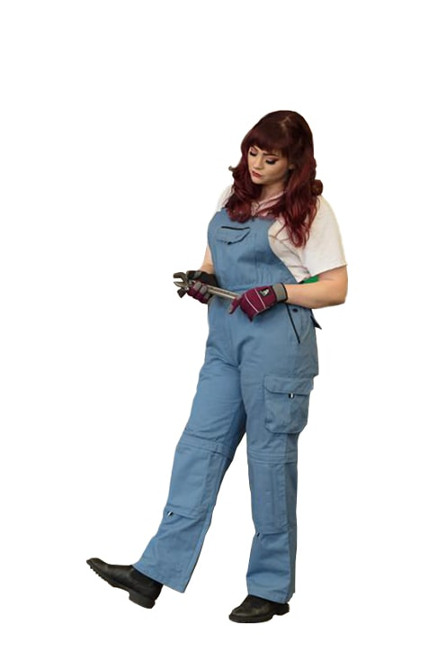 Rosies Classic Overall | Blue Jay