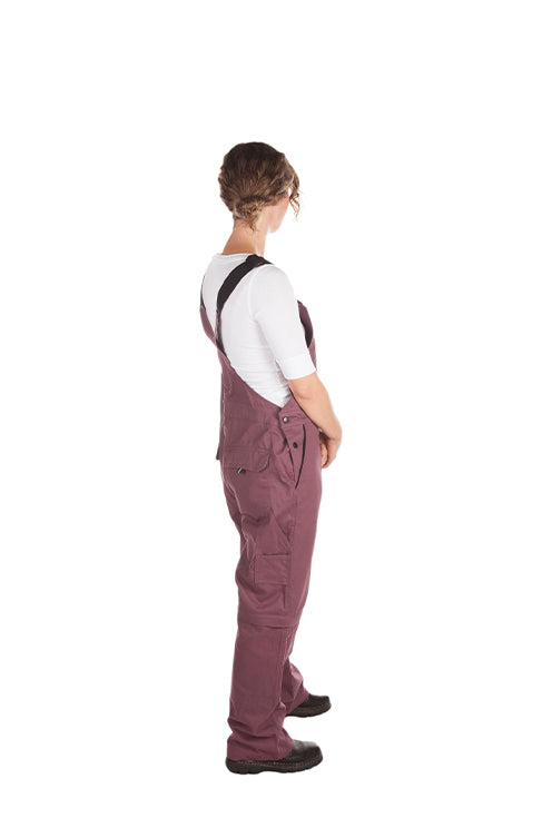 Rosies Classic Overall | Eggplant
