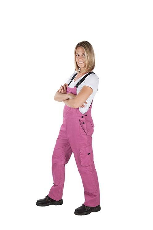 Rosies Classic Overall | Raspberry