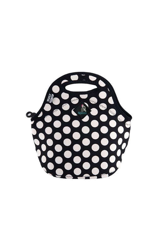 Polka Dot Lunch Tote