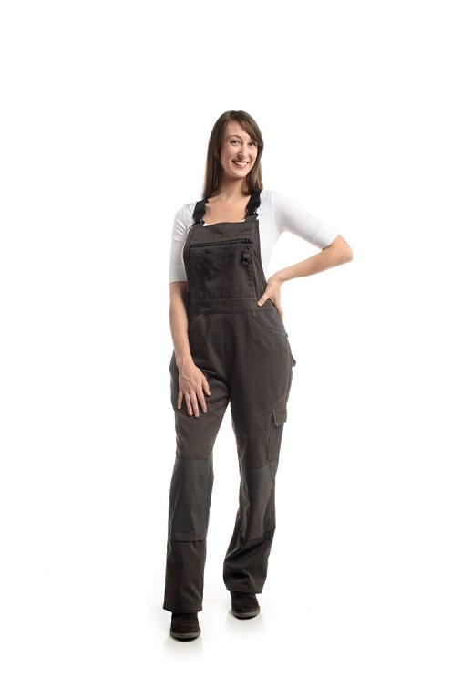 Professional Water-Resistant Overall | Smoke - OVERSTOCK