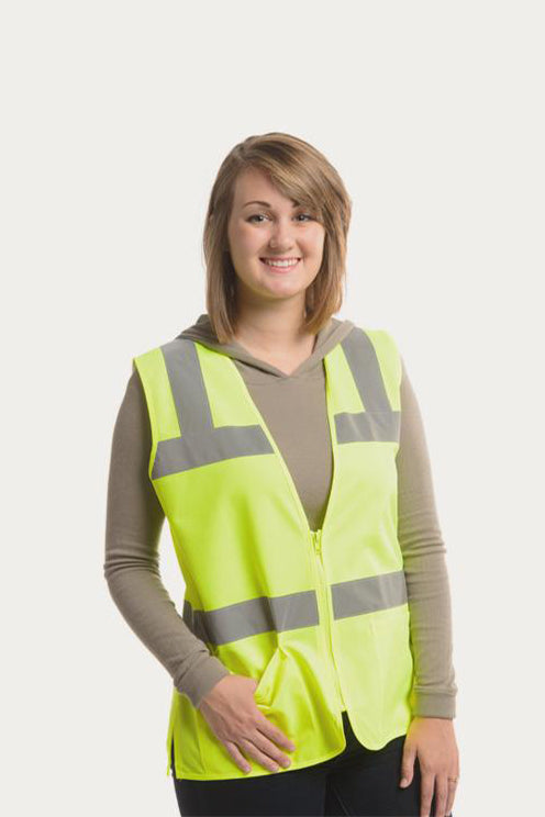 Safety Vest with Pockets | Lime