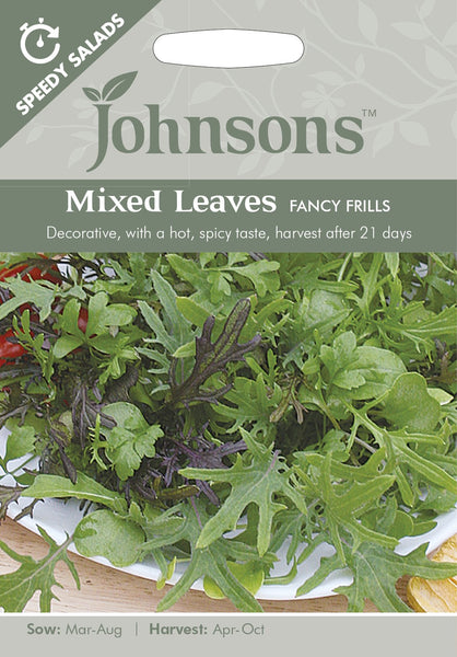 SP MIXED LEAVES Fancy Frills