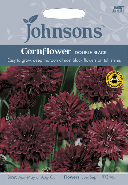 CORNFLOWER Double Black