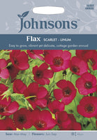 FLAX Scarlet - Linum