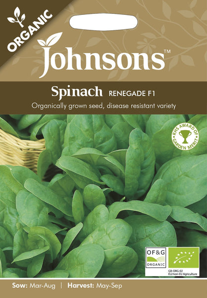 ORG SPINACH Renegade F1