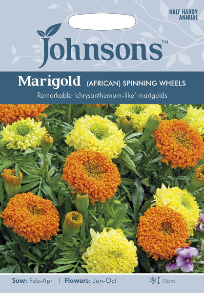 MARIGOLD (African) Spinning Wheels