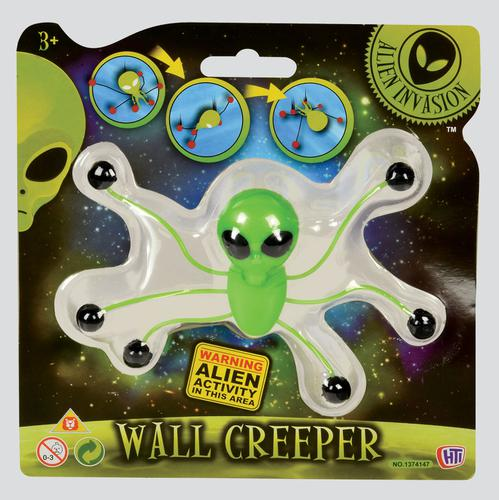 ALIEN INVASION WALL CREEPER - Great Pocket Money Toy