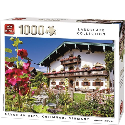 1000 PCS Bavarian Alps Germany Jigsaw Puzzle