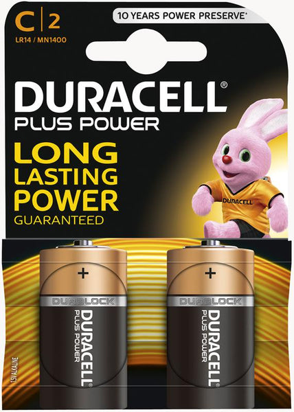 DURACELL C2 BATTERIES